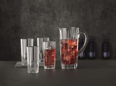 Набор из 5-и предметов кувшин + 4 стакана