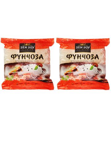 Вермишель Фунчоза Sen Soy Premium 2 штуки по 100 гр 1кор*1бл*2шт