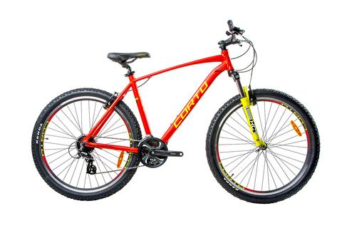 Горный велосипед Corto Sly 2021 красный