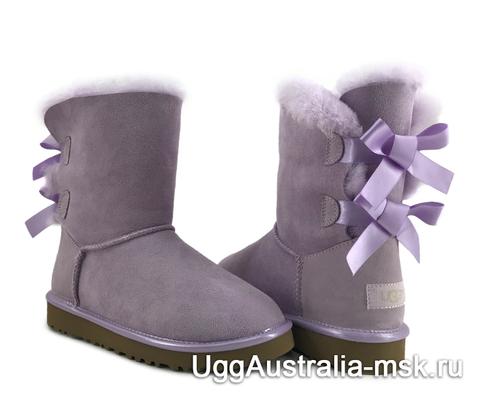 UGG Bailey Bow II Metallic Purple