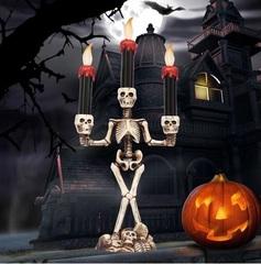 Хэллоуин декорация Канделябр Скелет