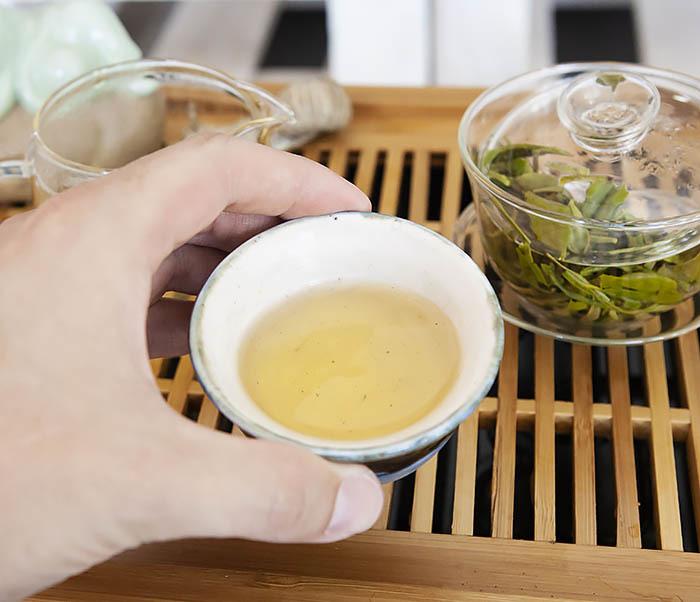 TEA-CH104 Китайский зеленый чай «Колодец Дракона» (Лун Цзин, 10 гр) фото 15