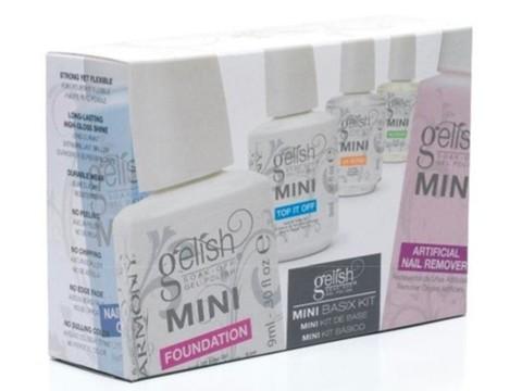 MINI GELISH BASIX KIT/Проф набор для моделирования гелевых ногтей купить за 4200руб