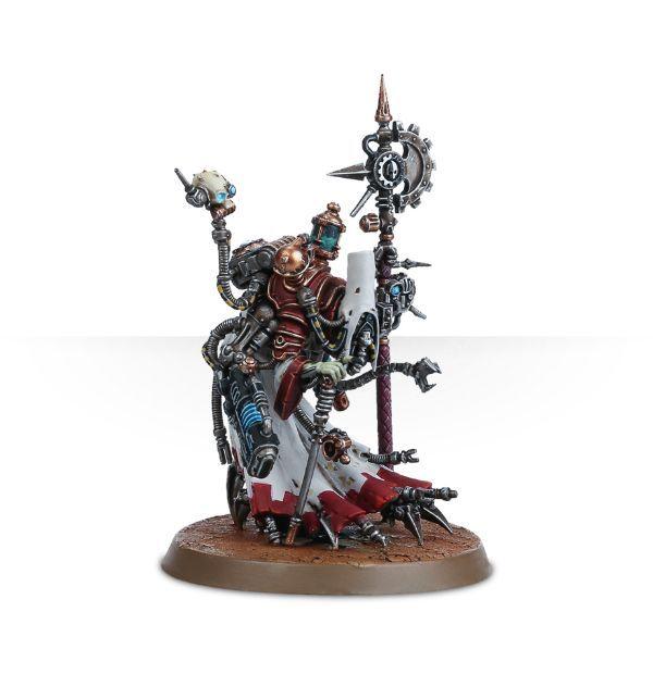 Adeptus Mechanicus Tech-Priest Dominus. Вариант сборки
