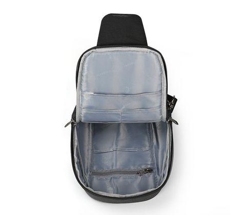 Картинка рюкзак однолямочный Tigernu T-S8061 Black - 3