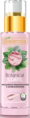 BOTANICAL CLAYS веганская сыворотка с розовой глиной 30 мл