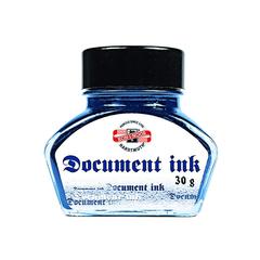 Чернила для перьевых ручек 0601, синие, флакон 30г