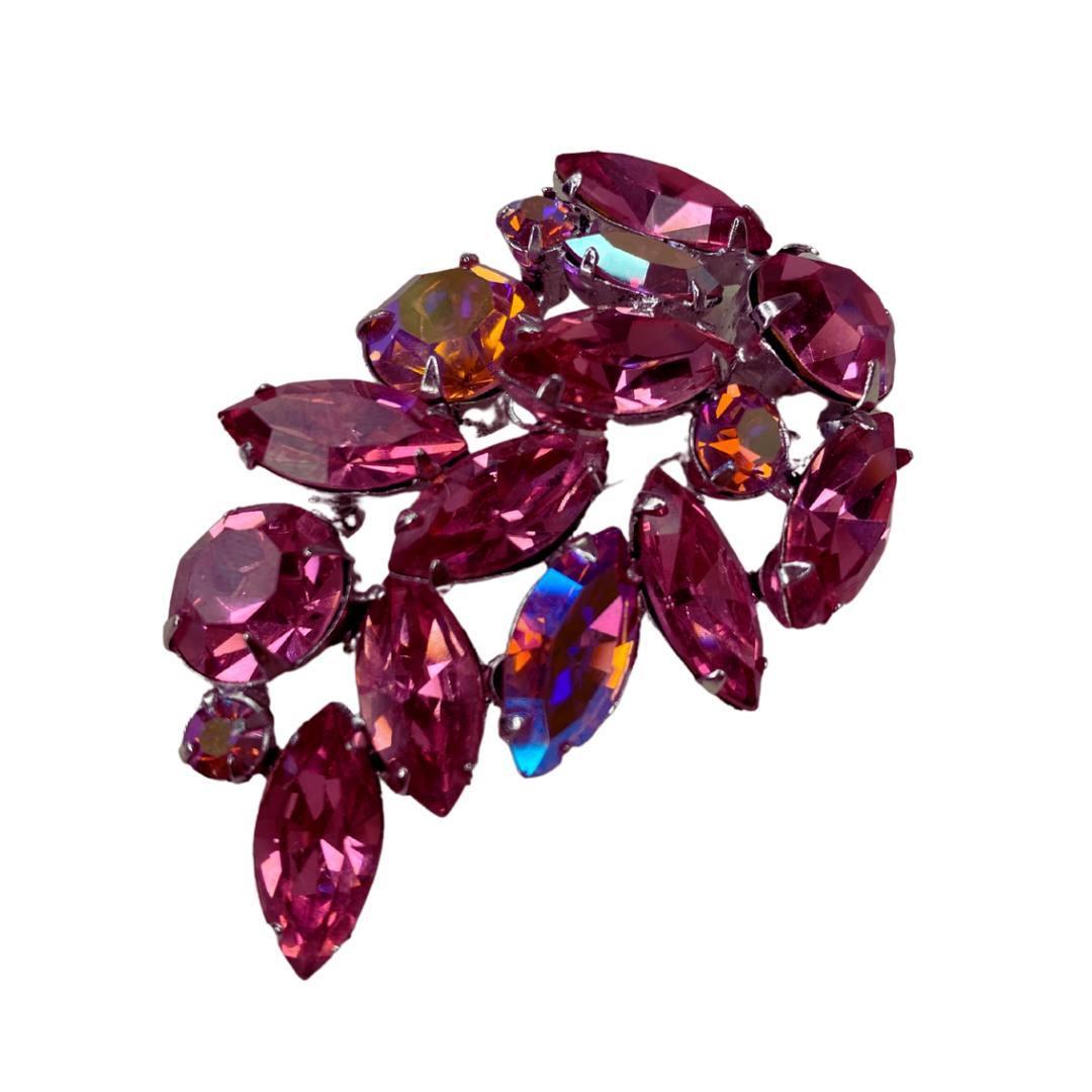 Брошь Regency с кристаллами