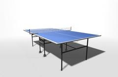 Теннисный стол для помещений складной, на роликах WIPS СТ-ПР (61020)
