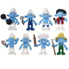The Smurfs Movie Basic Figure Two-Pack Series 02