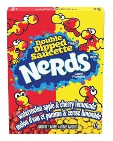 Nerds Double dipped saucette двойной микс 47 гр