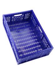 Большой складной ящик для хранения 60x40x17 см синий