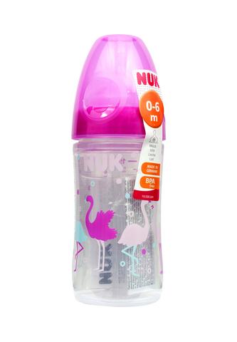 Бутылочка NUK First Choice с соской из силикона, 150 мл 0-6 мес.