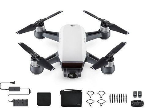 Квадрокоптер DJI Spark Fly More Combo (Alpine White)