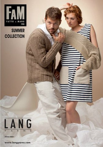 Журнал FaM 198 Lang Yarns