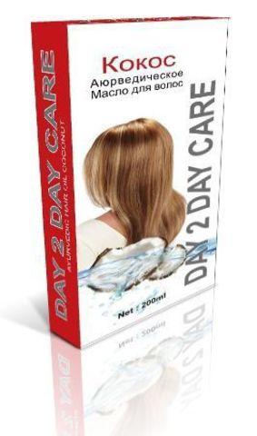 Масло Кокос для сухих волос, 200 мл D2D