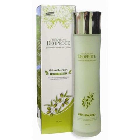 Deoproce Premium Olivetherapy Essential Moisture Skin увлажняющий тонер с маслом оливы