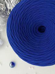 Синий  трикотажная пряжа