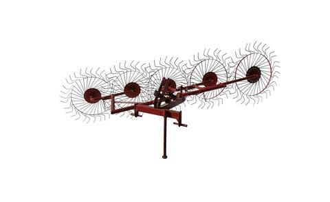 Грабли-ворошилки 5-и колесные однокрылые на минитрактор ВТ-5