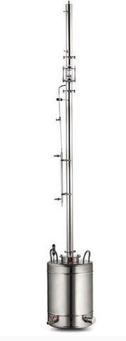 Ректификационная колонна AquaGradus Альфа - комплект 50 л - соединение кламп