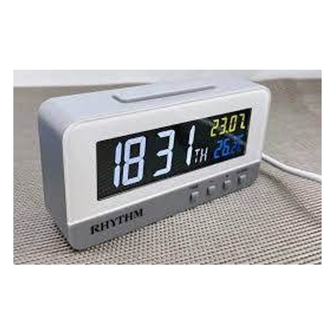 Настольные часы-будильник Rhythm LCT089NR03