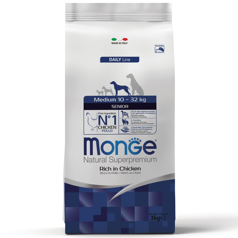 Сухой корм Корм для пожилых собак Monge Dog Medium Senior 70011679_1.jpeg