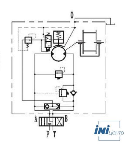 Стандартная лебедка IYJ344-120-100-24-ZPG