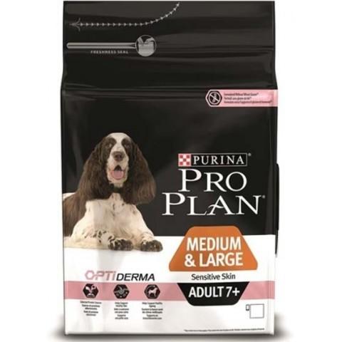 Purina Pro Plan Medium & Large Adult 7+ сanine Sensitive Skin dry 14 кг