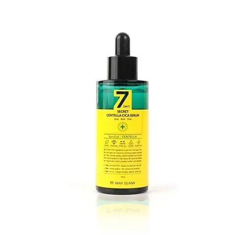 May Island 7 Days Secret Centella Cica Serum AHA/BHA/PHA обновляющий и преображающий кожу кислотный серум с AHA/BHA/PHA кислотами и центеллой азиатской
