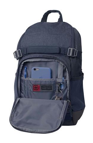 Картинка рюкзак городской Wenger  синий - 3