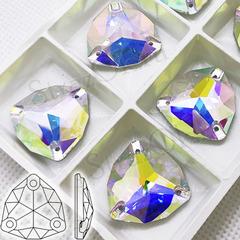 Купить пришивные стразы оптом Crystal AB Trilliant Триллиант