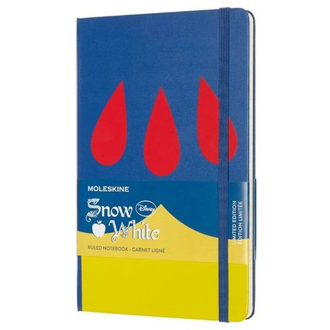 Блокнот Moleskine Limited Edition SNOW WHITE LESNQP060DR Large 130х210мм 240стр. линейка Dress (Платье)