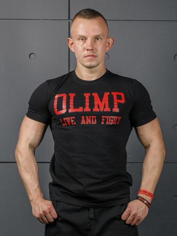 Мужская футболка Olimp Live & Fight Laf Black