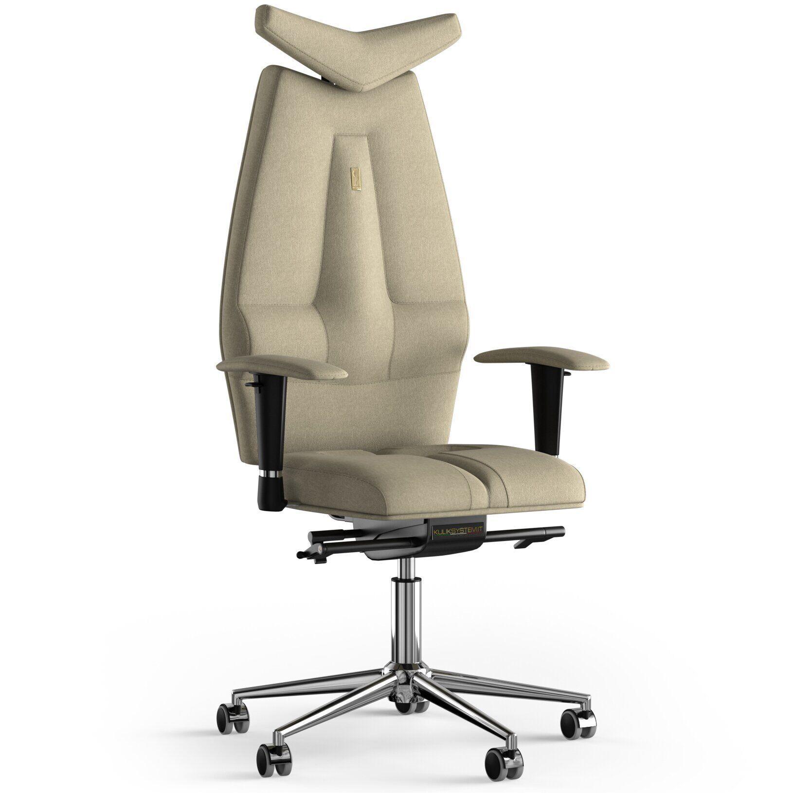 Кресло KULIK SYSTEM JET Ткань с подголовником без строчки