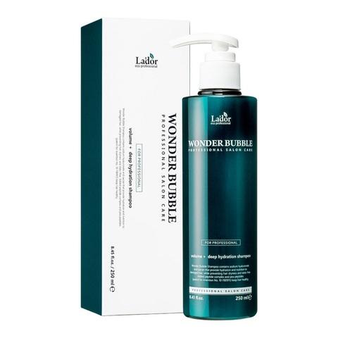 Lador Wonder Bubble Shampoo увлажняющий шампунь для объёма и гладкости волос