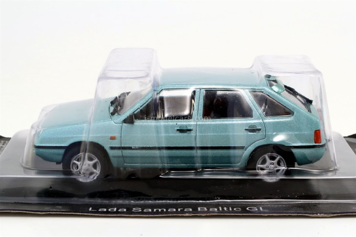 VAZ-21093 Lada Samara Baltic GL 1996 1:43 DeAgostini Auto Legends USSR #278