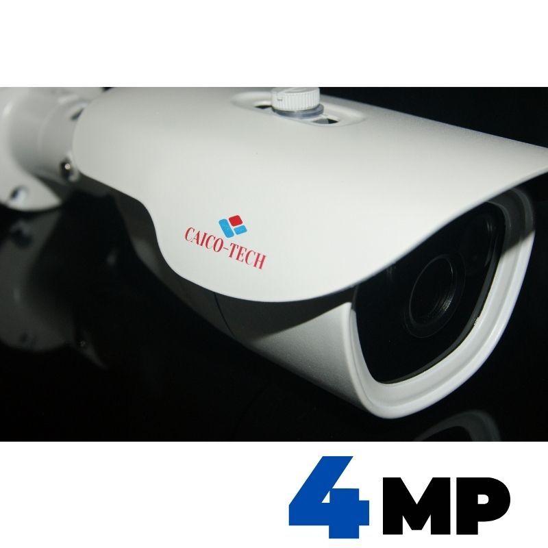 Уличная IP видеокамера наблюдения 4.0 МП CAICO TECH QH 4901 DC12V/ POE 48V