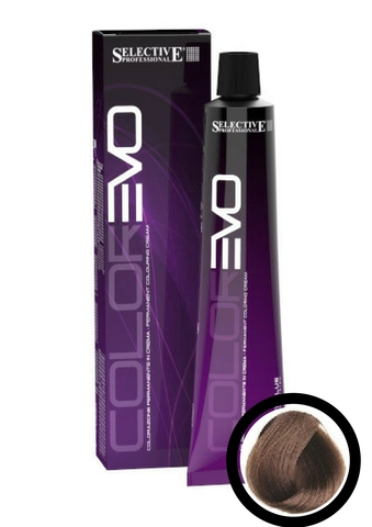 Краска для волос ColorEVO Selective 7.2 (блондин пепельно-бежевый), 100 мл.