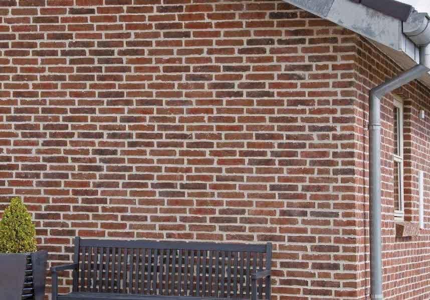 Randers Tegl, RT 445 HF, Rotbunt Patina Handformziegel, полнотелый - Клинкерный кирпич ручной формовки