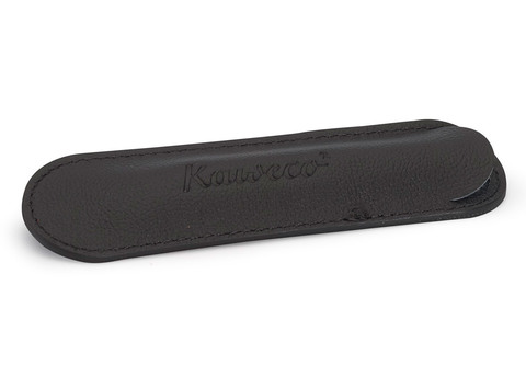 Чехол ECO для 1 длинной ручки кожаный чёрный