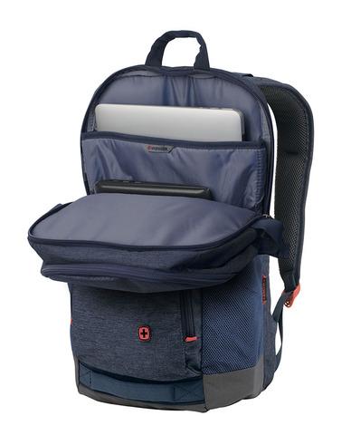Картинка рюкзак городской Wenger  синий - 4
