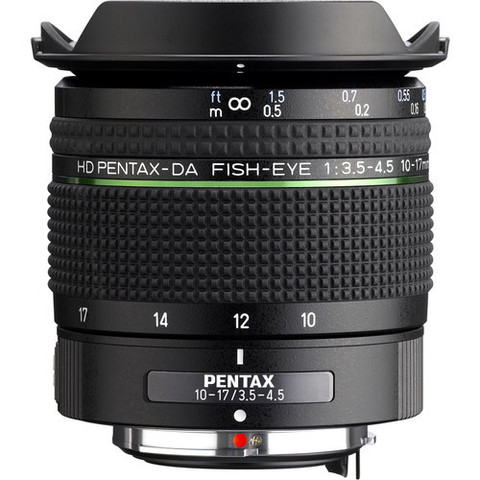Объектив HD PENTAX Fish Eye DA 10-17мм f/3.5-4.5 ED (IF)