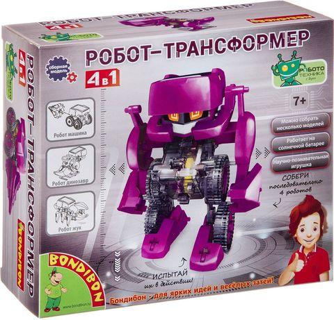 """Набор для опытов и экспериментов Bondibon """"Робот трансформер. 4 в 1"""""""