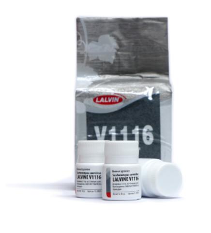 Дрожжи Lalvin V1116, 10 гр.