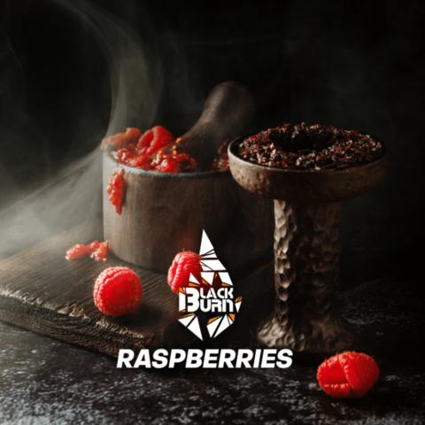Табак Black Burn Raspberries (Малина) 200г