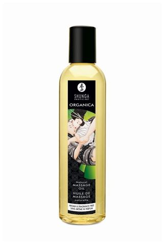 Массажное масло без аромата Organica Aroma   Fragrance Free - 250 мл.