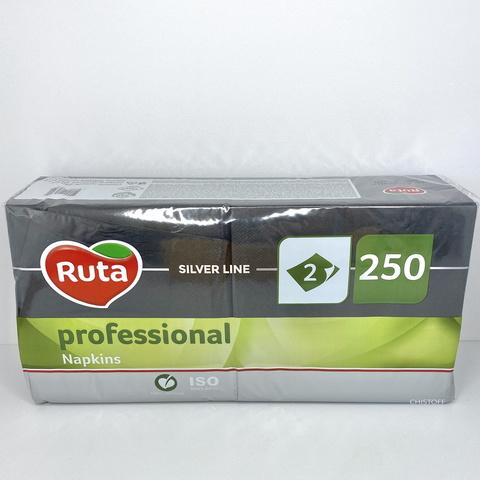 Салфетки Fesko Professional 33х33 см 2сл. (250 шт.) черные (К0547)
