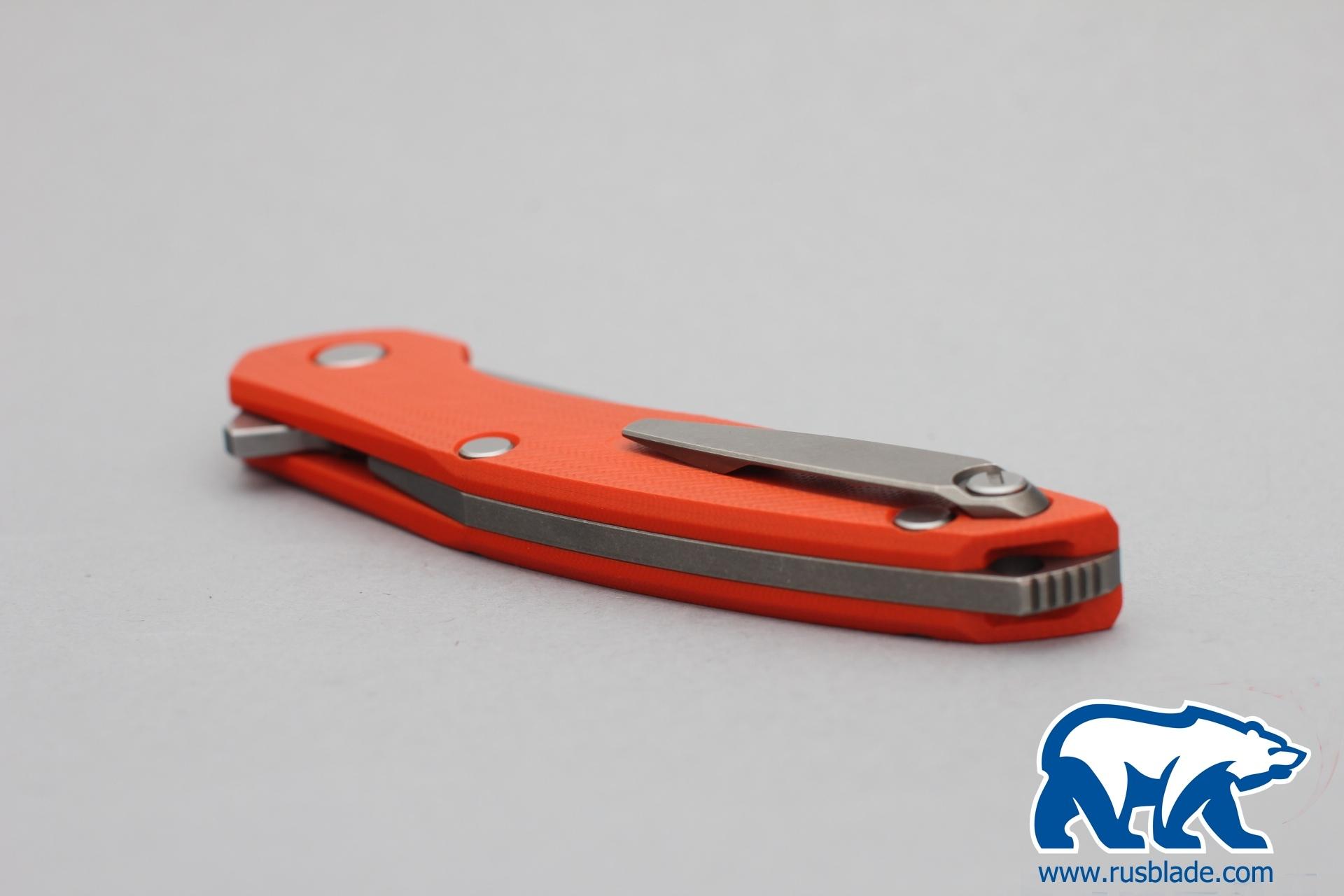 Shirogorov 111 440c G10 3D orange - фотография