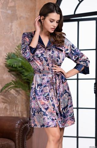 Рубашка-халат MIA AMORE ETTRO (75% натуральный шелк