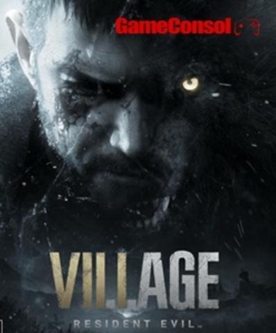 Плакат игровой Resident Evil Village (А1)